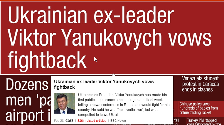 NewsMap Image Top Story