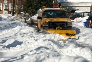 mapping - snow removal in big cities