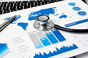 a positive growth chart that shows the results of healthcare industry mapping solutions