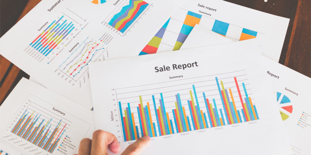 sales teams can utilize sales mapping software and sales reports to identify patterns