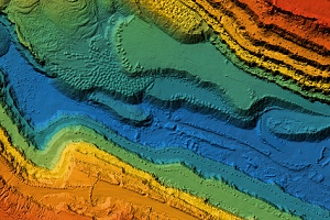 GIS software being used to identify environmental changes