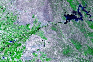 Satellite Image of an Area