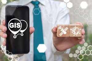 Man with GIS in Mobile
